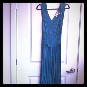 Newport News Dress Medium Empire Waist